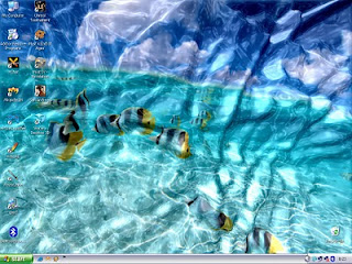 Free Watery Desktop 3D