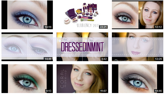 http://www.youtube.com/user/dressedinmint/videos
