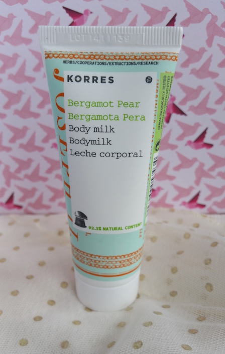 Korres Bergamot Pear Body Milk