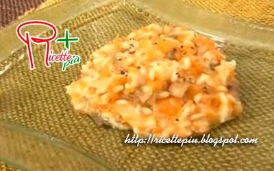 Risotto Zucca e Funghi di Cotto e Mangiato