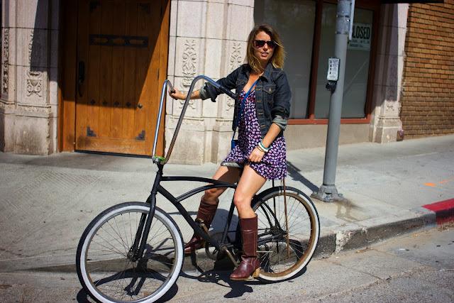 велосипед блогера
