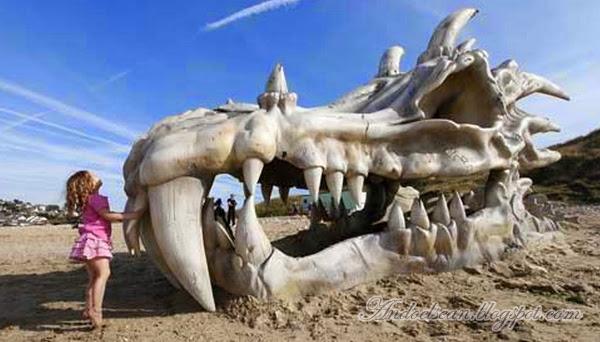 Penemuan fosil naga
