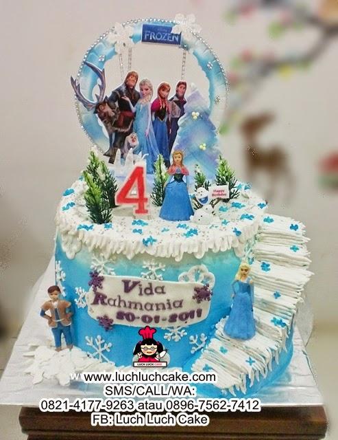 Kue Tart Frozen - Frozen Birthday Cake