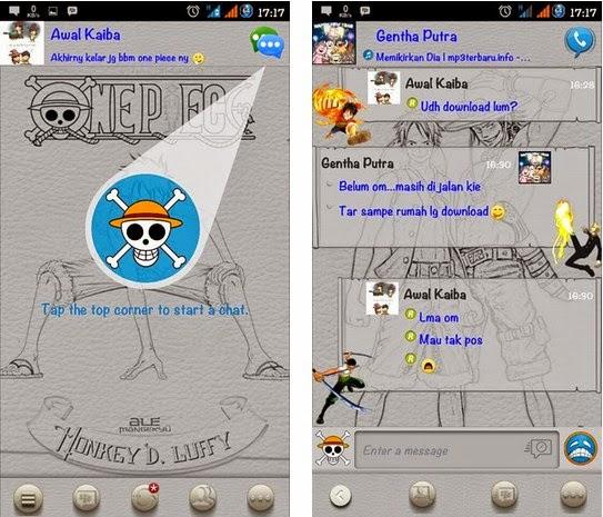 FREE BBM MOD One Piece 2.6.0.30 Terbaru