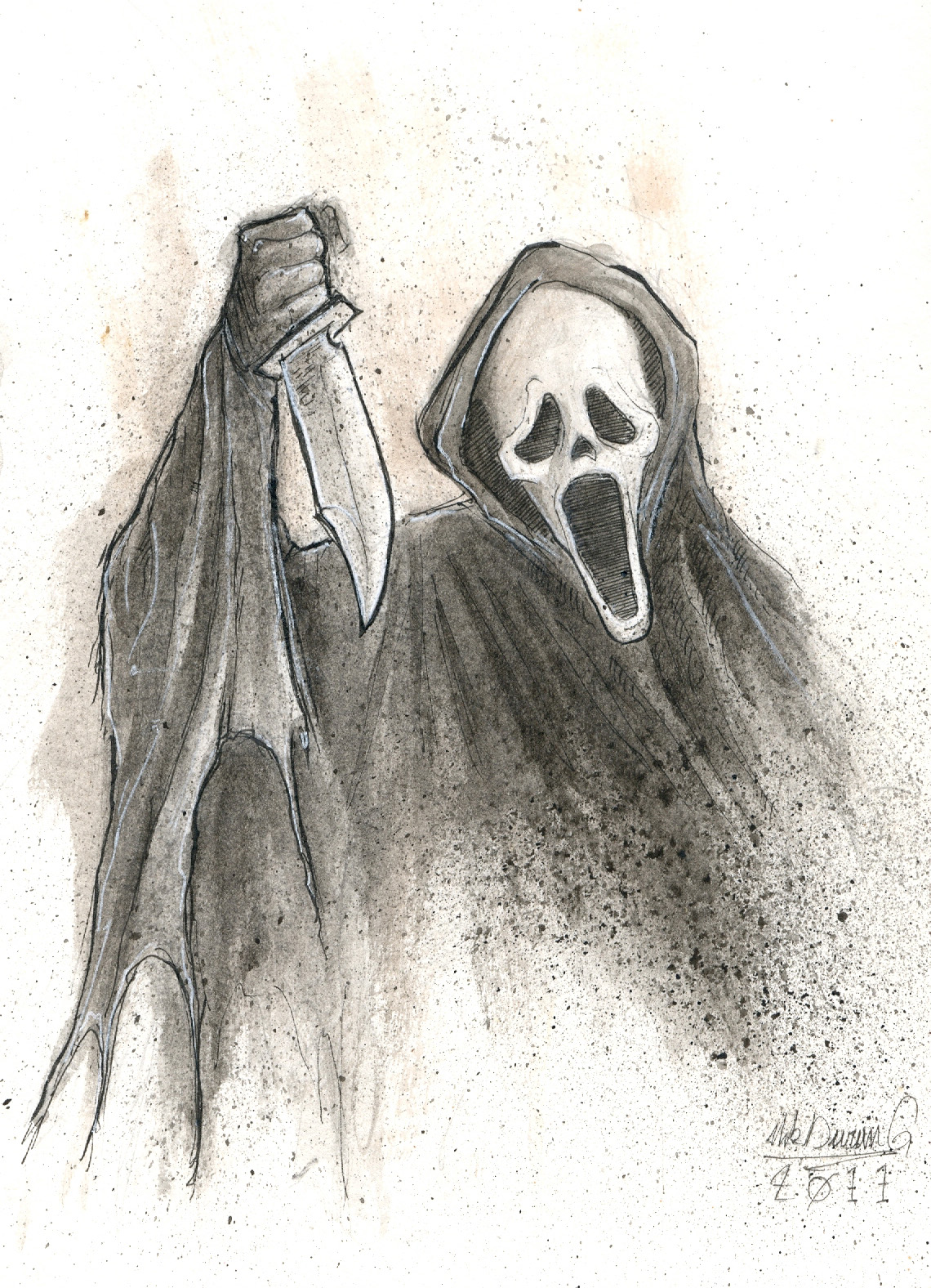 10 monsters for halloween 5 ghost face