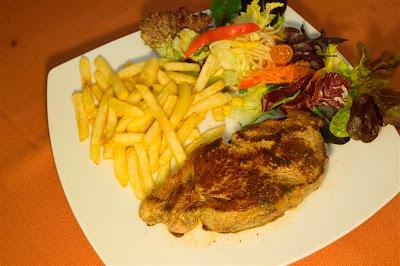 Carns al Restaurant La Vila de Pals