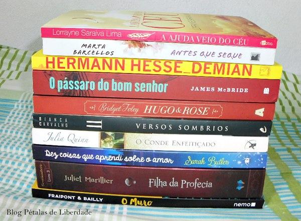 Caixa de Correio, livros, dezembro