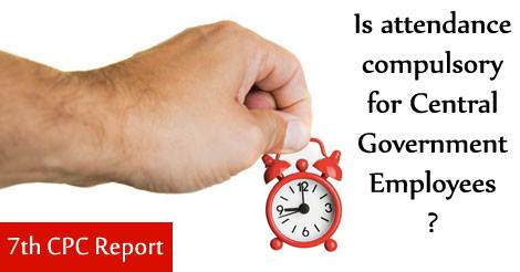 attendance-compulsory-for-Central-Government-employees