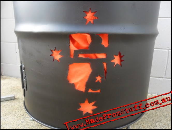 Made From Stuff FIRE DRUMS CUSTOM DESIGNS