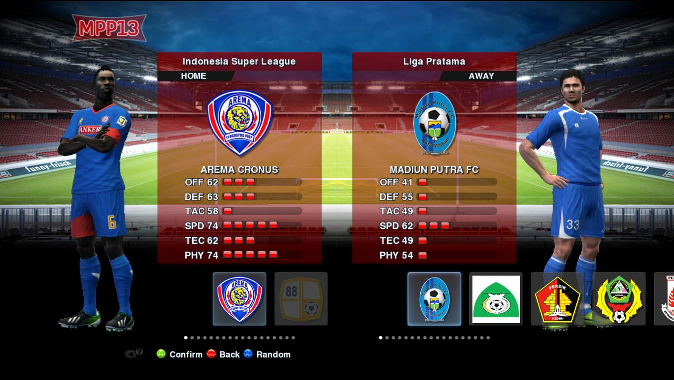 Download Patch 3.6 + Liga Indonesia PES 2013