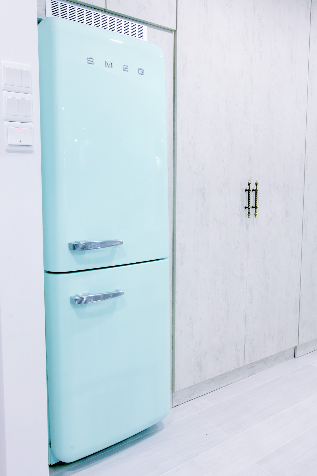 Smeg Refrigerator Inside View My gorgeous mint green smegSmeg Refrigerator Inside View