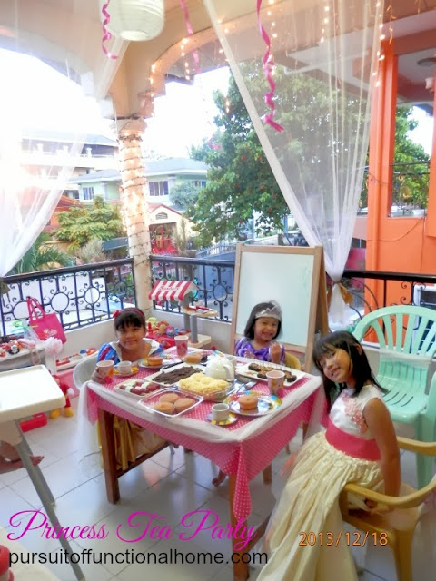 Princess Tea Party Ideas, decorations, little girls had so much fun