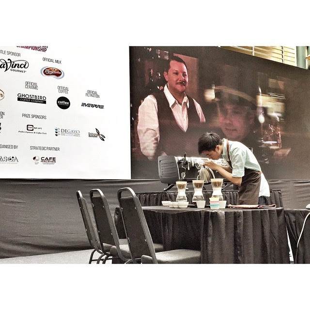 The Malaysian Brewer's Cup Championships (MBCC)  on-going
