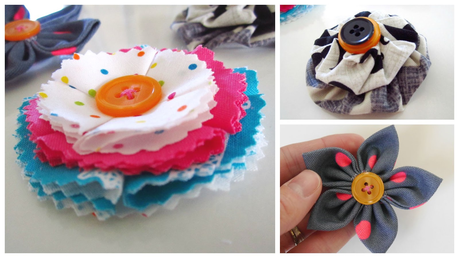 Stylenovice step by step sewing diy fabric flowers step by step sewing diy fabric flowers izmirmasajfo