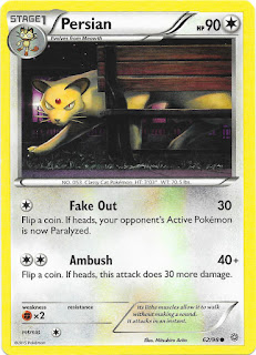 Persian Ancient Origins Pokemon Card