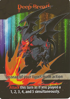 giant dragon from Flash Duel