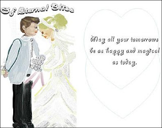 Wedding card greetings