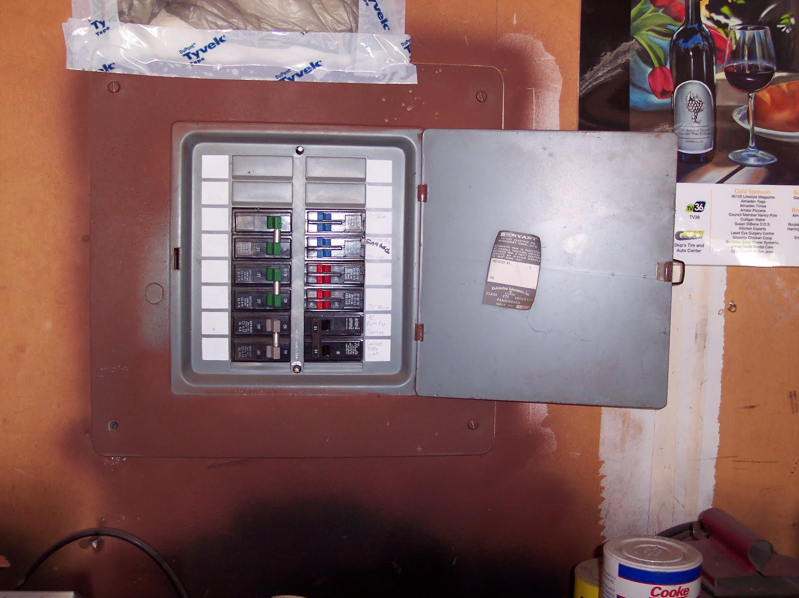 2121 Interbay Drive Electric Meter Socket Load Center Wiring A