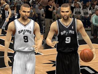 NBA 2K13 San Antonio Spurs Jersey Patch Mods- Tony Parker