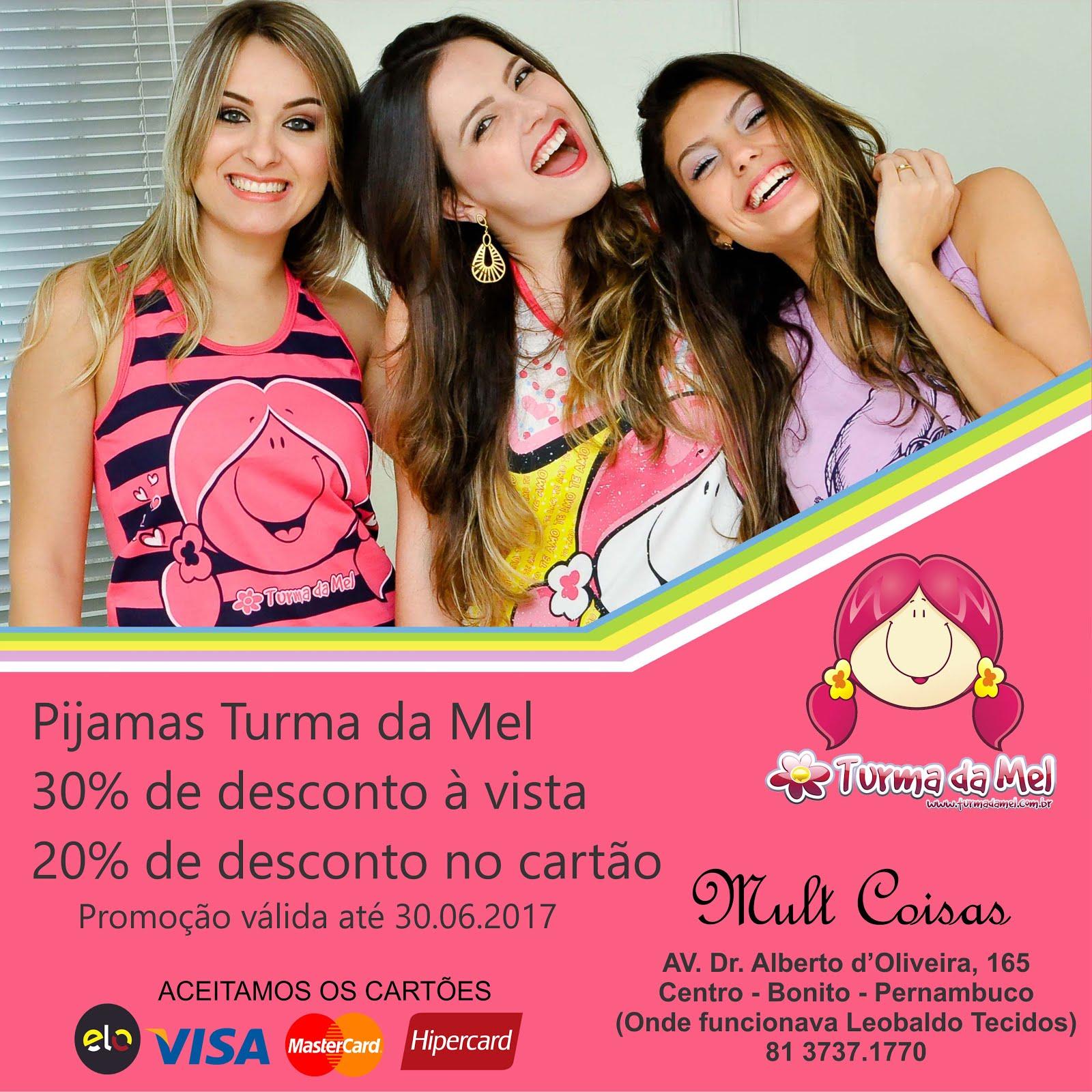 Pijamas Turma da Mel