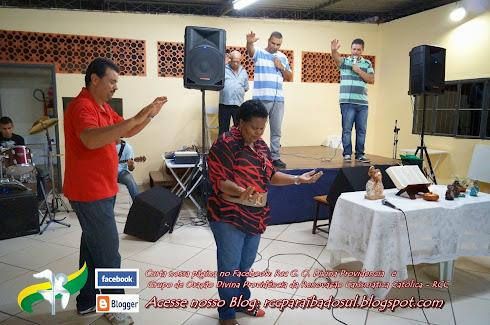 Pregação de Marlene no Grupo de Oração de Avelar.
