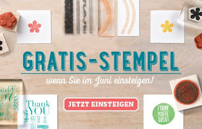 Gratis Stempelsets für jeden Stampin' Up! Neueinsteiger!