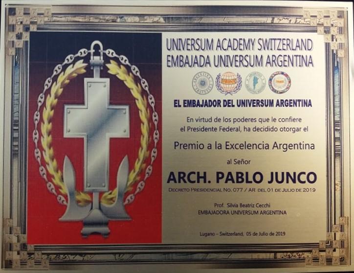Premio a la Excelencia Argentina Universum Academy Switzerland