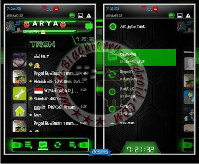 BBM Mod Droid Chat Warna Hijau v2.8.0.21 Apk
