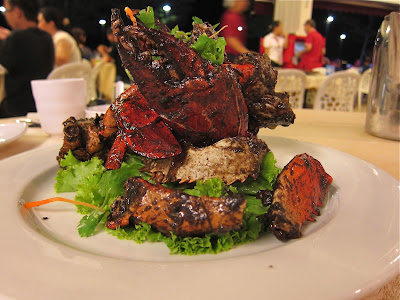 Black Pepper Crab at Long Beach Singapore