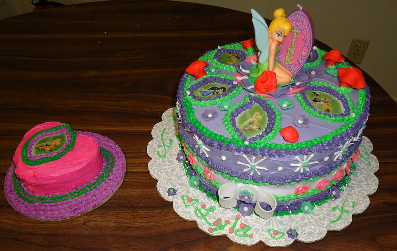Free Cakes For Kids Killeen Our 20th Cake Tinkerbell For Lyla