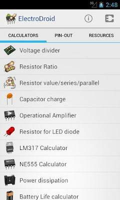 ElectroDroid Pro apk - essential apps for studying electronics
