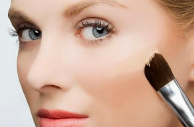 make up, trang điểm, che khuyết điểm, trang điểm tự nhiên, cọ trang điểm, kem nền