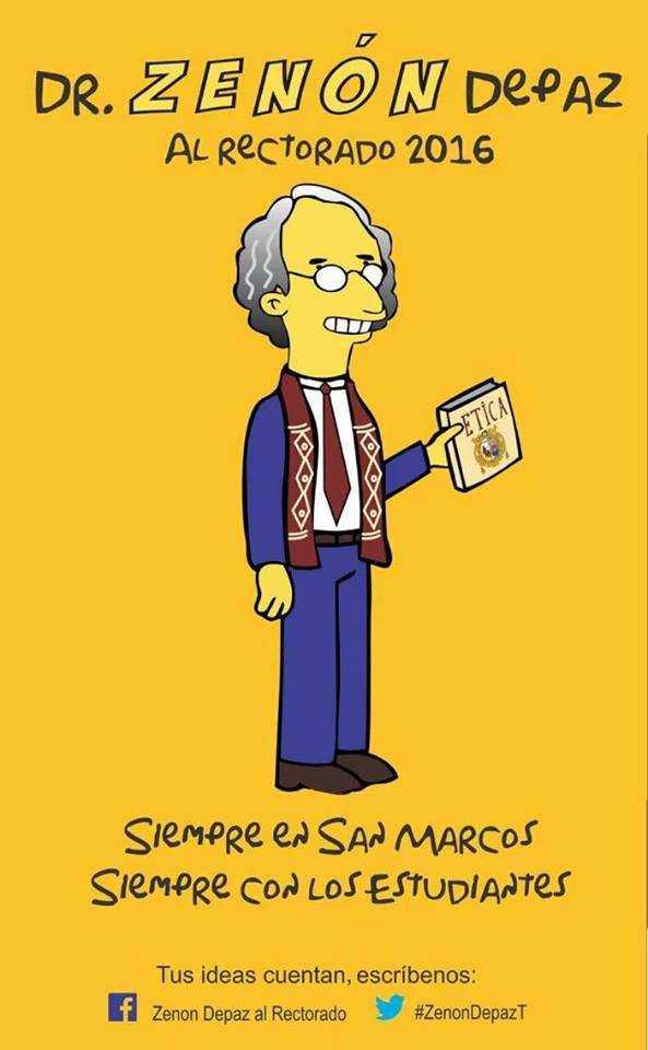 Zenón Depaz para Rector de San Marcos