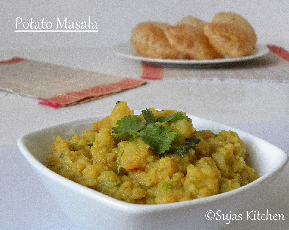 Potato Masala for Dosa & Poori