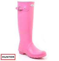 Hunter Rain Boots Pink2