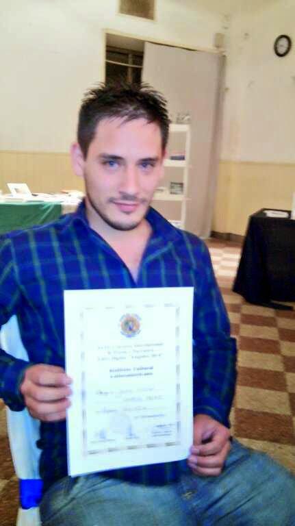 """Cuarto premio en el género """"Narrativa"""" por el Instituto Cultural Latinoamericano"""