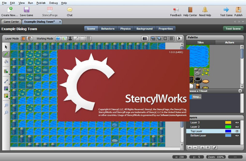 stencyl game engine
