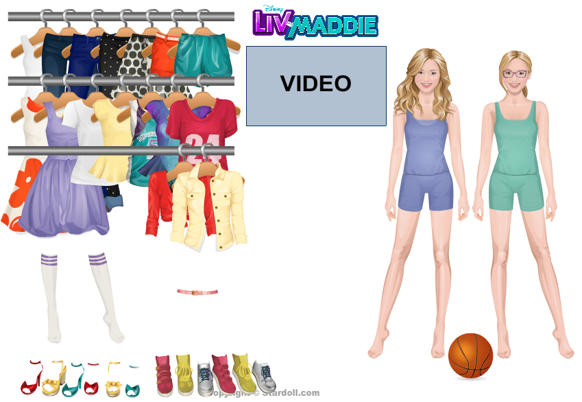 Free Disney Liv and Maddie Items | STARDOLL FREE | Underneath ...