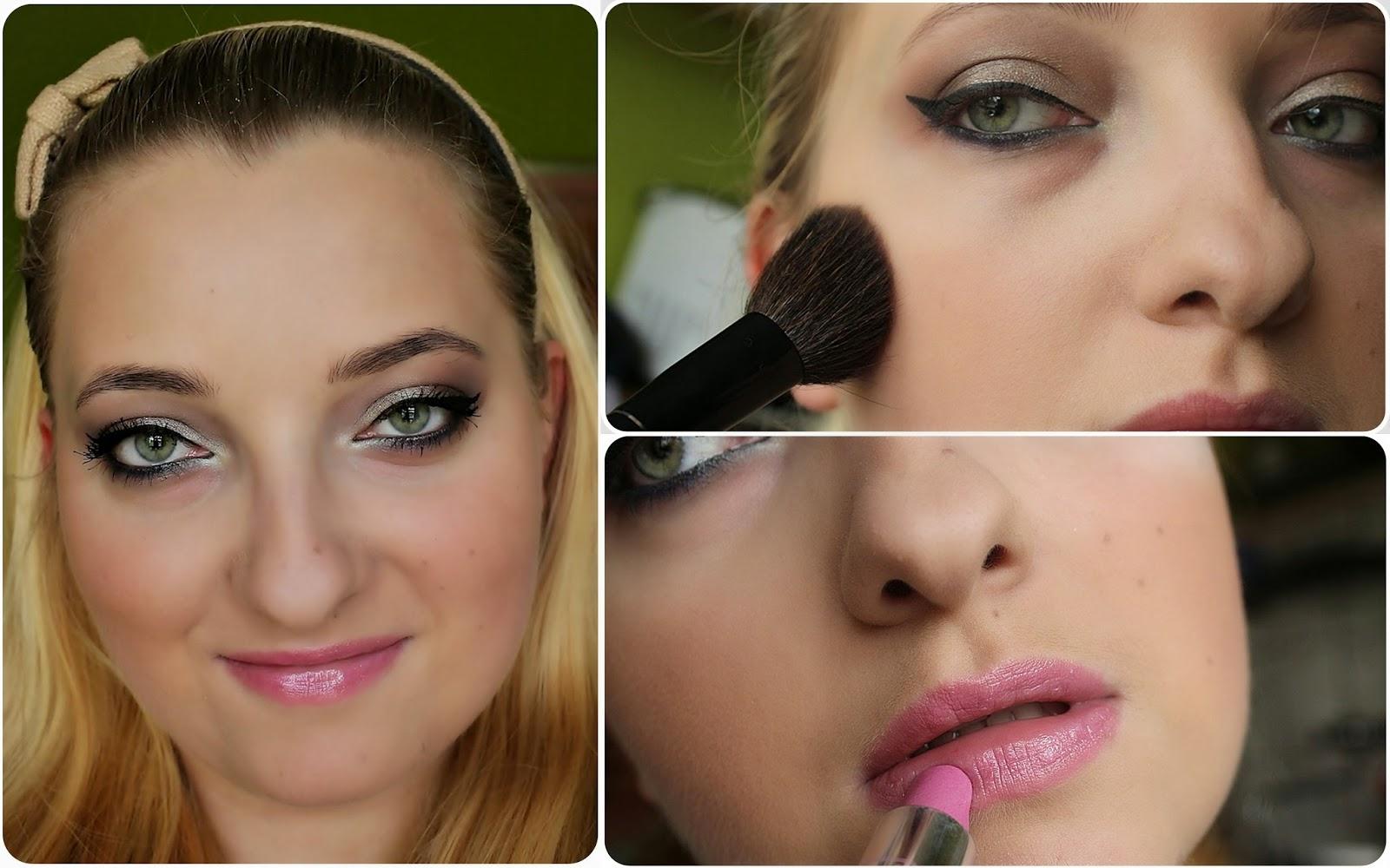 szkoła makijażu wieczorowy zakochana w kolorkach