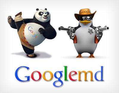 emd update, panda dan penguin