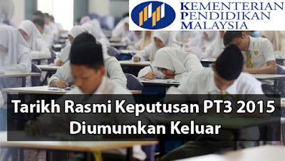 Semak Keputusan PT3 2015