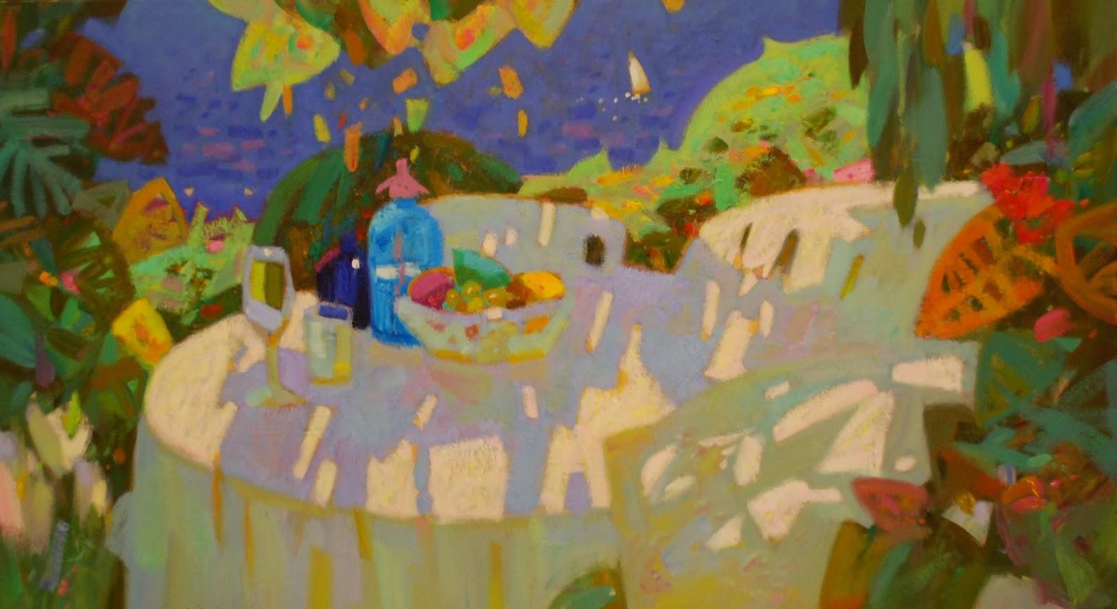 Isidre vilaseca i coll pintor terrassa mediterr nea - Telas terrassa ...
