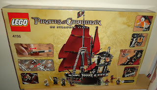 Pirates of the Caribbean On Stranger Tides Lego Set Queen Anne's Revenge