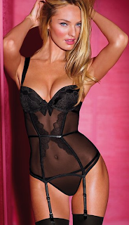 Victorias secret Black Lace Merrywidow