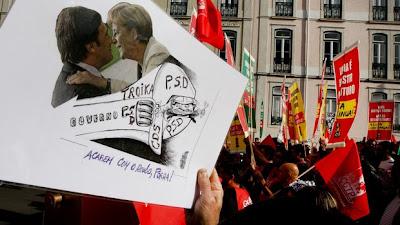 Contra o aumento do custo de vida FMI fora de Portugal Há outro caminho