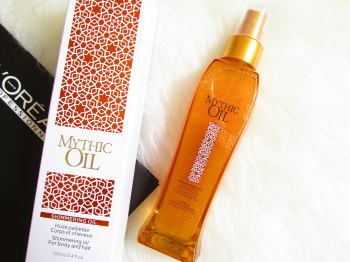 Review: L´Oréal Professional Mythic Oil Shimmering Oil  für Körper und Haare