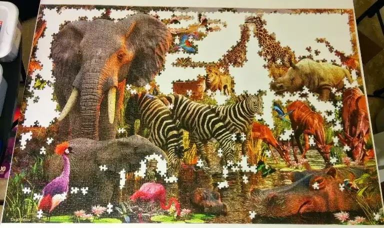 Ravensburger African Animals 3000 piece jigsaw puzzle