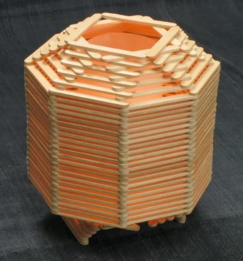 dari Stik Es Krim | Cara Membuat kerajinan tangan Membuat Kerajinan