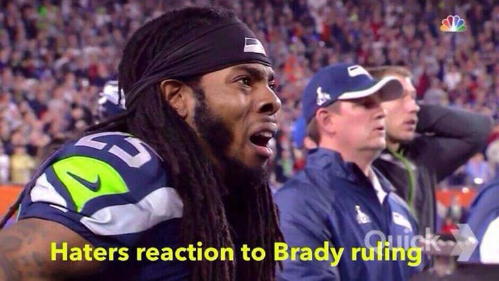 haters reaction to brady ruling.- #hatersreaction, #brady, #ruling,#tombrady, #RichardSherman, #patriots,#seahawks,
