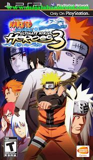 Kumpulan Games Naruto Shippuden ISO PSP Android
